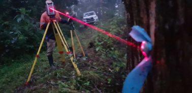 Man Doing Industrial Surveyor — Surveyors Sunshine Coast